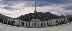 Santa Cruz Valley Of The Fallen (Davizso) Tags: madrid espaa spain san francisco basilica valle primo cruz lorenzo franco escorial rivera valledeloscaidos caidos franciscofranco joseantonioprimoderivera