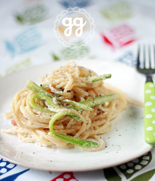 spaghetti asparagi e ricotta