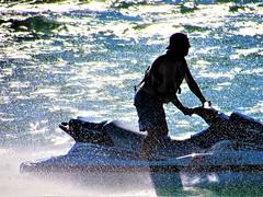Staying wet (thomasgorman1) Tags: river man watercraft water splashing fun recreation holiday colorado canon arizona person