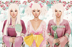 Ayashi @ Hair Fair 2017 (Gabriella Marshdevil ~ Trying to catch up!) Tags: sl secondlife cute kawaii asian ayashi zenith catwa insol hair hairfair