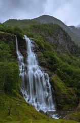 Brekkefossen (Mika Tuomela) Tags: brekkefossen norway landscape waterfall waterfalls vestlandet sognogfjordane flåm photography scenery nikkor20mmf18g nikond750