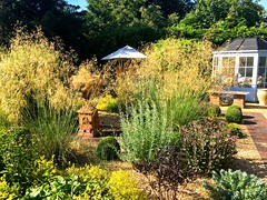 Old Swan House (HerryLawford) Tags: osh garden july grasses urn