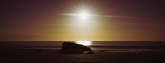 Pure and Simple (Matthew Johnson1) Tags: flangy2017 may2017 sunset simple plain pure nature beautiful beach sea coast wales sun britain calm serene alone still