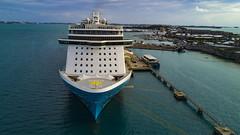 (drop photography) Tags: bermuda norwegianbreakaway cruise ship