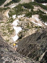 Jamming the good pitch (sherpa156) Tags: climbing lacy rockclimbing washingtonpass alpineclimbing southearlywintersspire eastbuttress