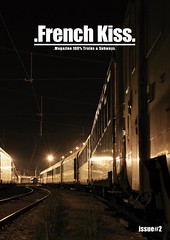 French kiss magazine #2 (french kiss magazine) Tags: uk 2 italy france art portugal train magazine subway french austria spain kiss metro russia belgian tgv rer maquis ter