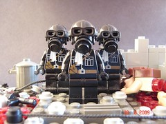 Nazi Storm Elite (Colonel Ghostman) Tags: world storm black soldier war uniform gun lego mask bricks nazi helmet honor super medal gas mg ii elite figure ww2 airborne 42 mocpages