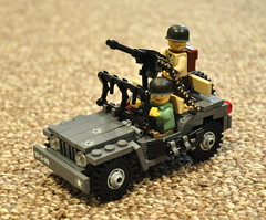 Rosie: Version...I've stopped counting. (The Ranger of Awesomeness) Tags: lego jeep wwii operation mb willys 2010 wwiijeep brickarms legojeep operationbricklord legolegolego bricklord europeatwar legowwiijeep legowillys