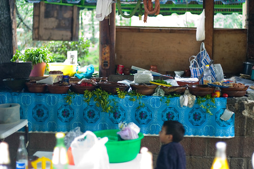 Street food in the mountain