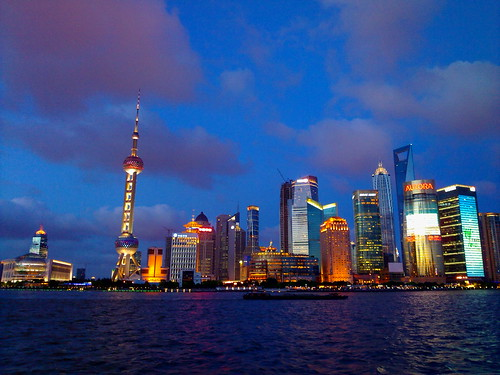 Pudong at Dusk