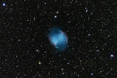 M27 (Reprocessed) (Eric J Holmes) Tags: Astrometrydotnet:status=solved Astrometrydotnet:version=14400 Astrometrydotnet:id=alpha20100807307858
