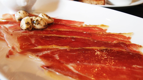Jamon at Eastside Inn bar