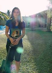 Isadora (Priscila Beal) Tags: contraluz person pessoa sony flare hx1 herowinner