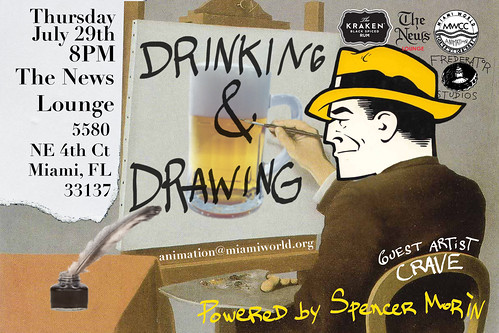 Drinking and Drawing, Miami