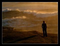 'Isolation', Punakaiki, New Zealand (skybluetara) Tags: ocean travel sunset sea newzealand beach coast waves lonelyplanet punakaiki ultimateshot trumanbeach lpsublime