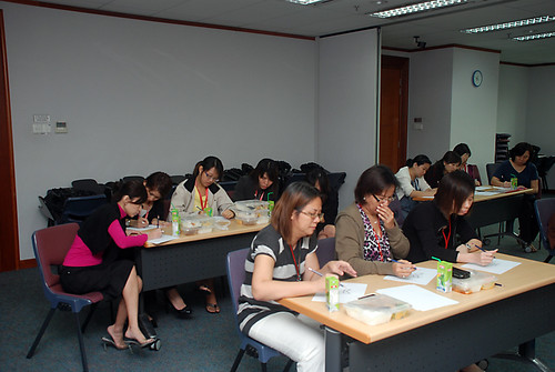 Caricature Workshop for AIA Tampines - Day 3 - 8