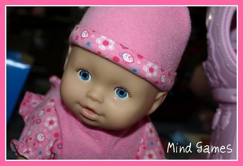 Crawling Baby Doll
