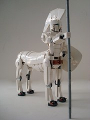 Ajax The Great...Spear Side (Lino M) Tags: white greek lego greece copper ajax legend mythology lino centaur hoplite ftw nocompromise ironbuilder guyhimber ajaxthegreat