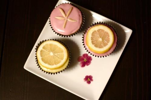 Vegan-Gluten Free Lemon Cupcakes