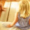 . (Catherine...) Tags: blue blur color childhood square bleu blond grainy defocus enfance artlibre
