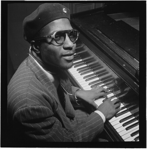 [Portrait of Thelonious Monk, Minton's Playhouse, New York, N.Y., ca. Sept. 1947] (LOC)