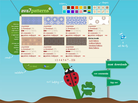 Ava 7 patterns