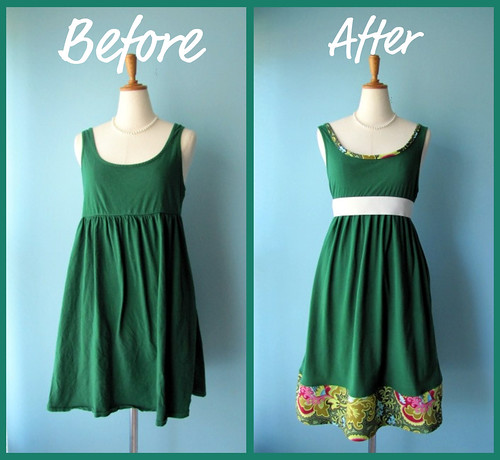 Before and After Dress