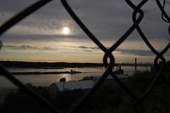 Mississippi River at Dusk