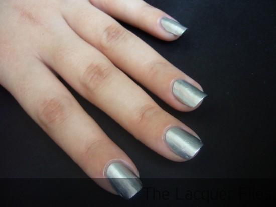 Nail Art Tutorial Ruffian Manicure China Glaze Millennium