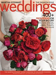 Martha Stewart Weddings Fall 2010 Issue - Merci New York
