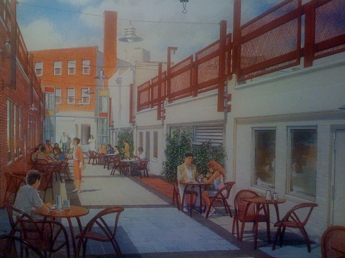 Arts Alley Rendering