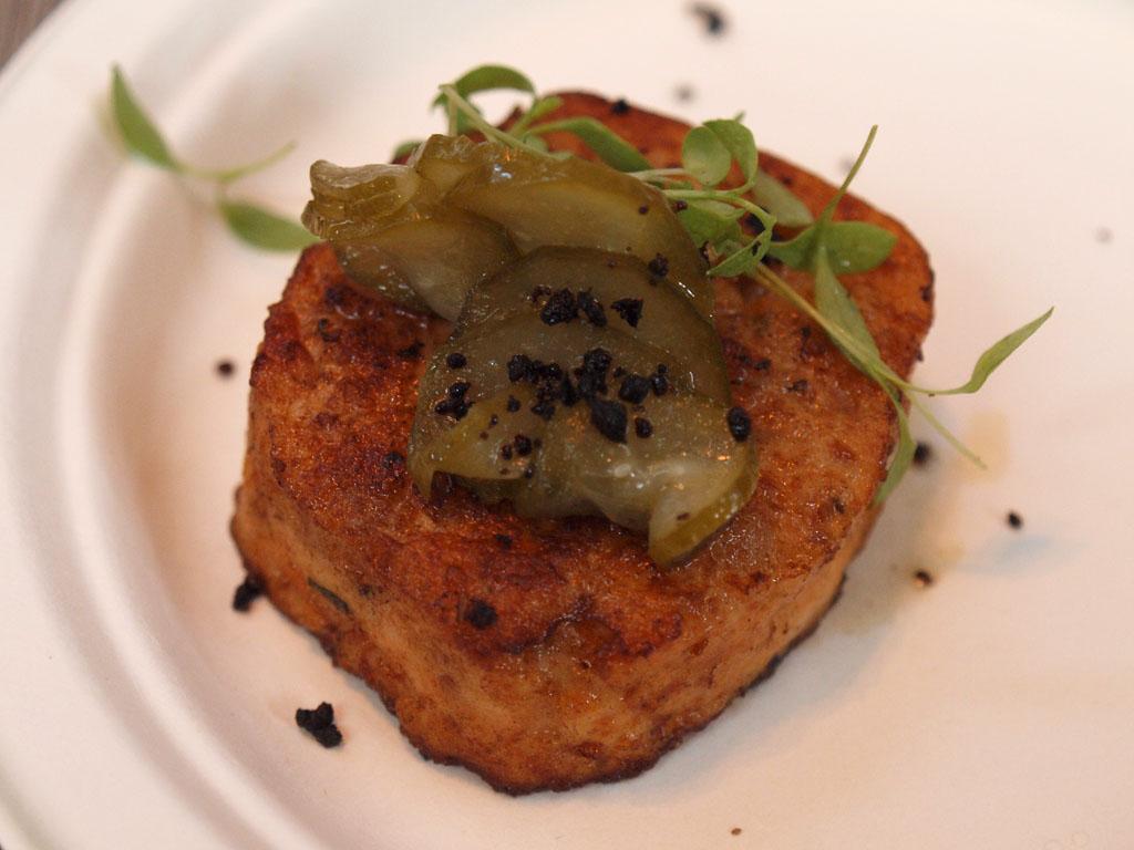 ToM - Sarti - Calabrian prawn sausage