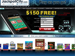 Jackpot City Mobile Casino Lobby