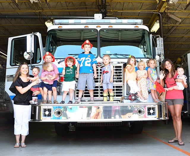 kids on the firetruck 2