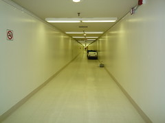 Sterile Corridor Between Terminal 5 and 6 at LAX