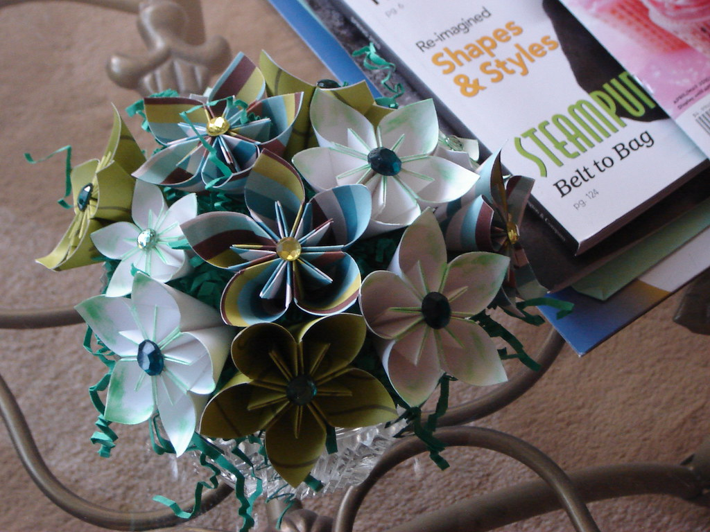 Paper Flowers by Manda Girl Designs