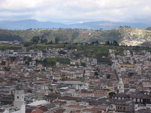 Quito - City as Seen from Yaku Museo del Agua #2