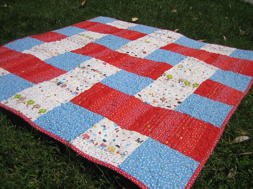 Stacked Quilt - top