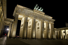 The Brandenburg Gate at Night - Berlin (Chris Dorney Photography) Tags: travel berlin art history tourism monument architecture germany europe european sightseeing arts culture landmarks parliament brandenburggate landmark architect german historical quadriga sights reunification brandenburgtor parliamentarybuilding thearts parliamentary eastandwest placesofinterest placeofinterest beautybeautiful artsandculture