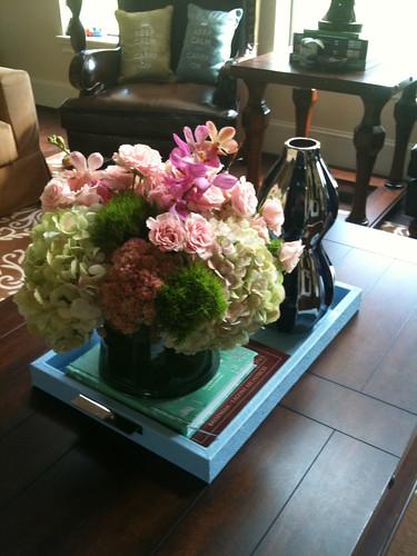 Anniv flowers from Ben