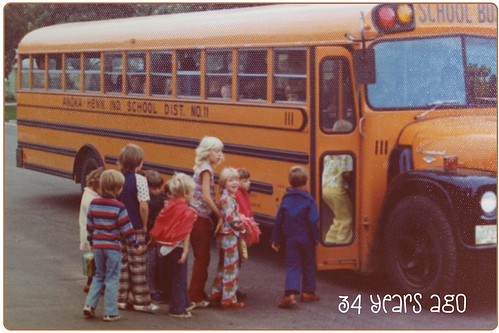 1976 Off to Kindergarten