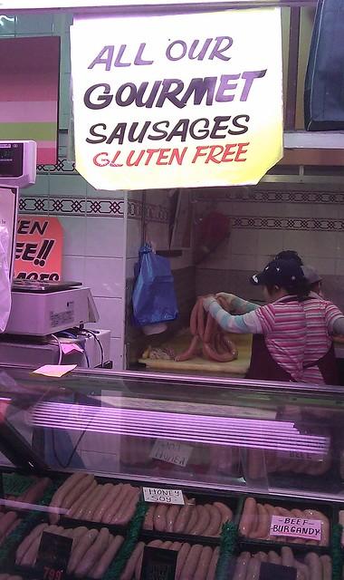 Gluten Free Gourmet Sausages