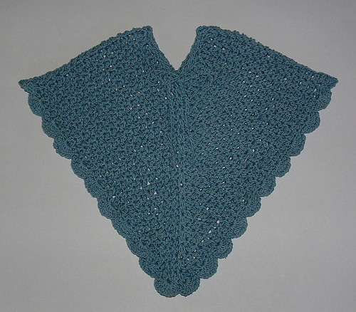 Crocheted Baby Poncho My Recycled Bags.com