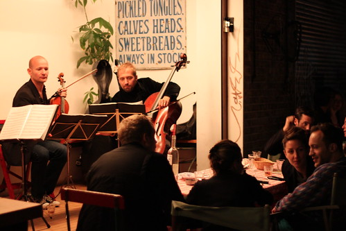 Towpath String Quartet Dinner
