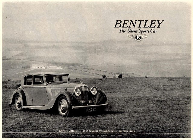1937 Bentley 4-1/4 Litre Saloon