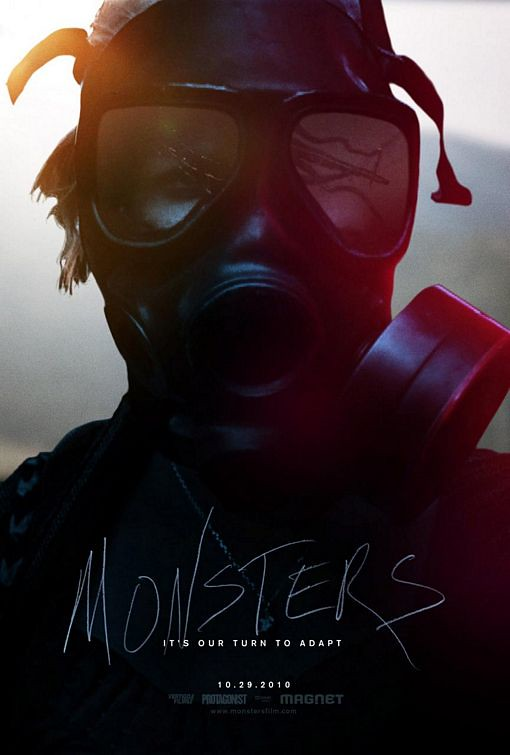 Monsters 2010 movie poster