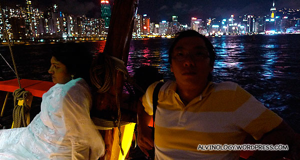 Ming Choy and his new girlfriend