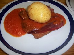 Huevos cristal emp con jam y tomat