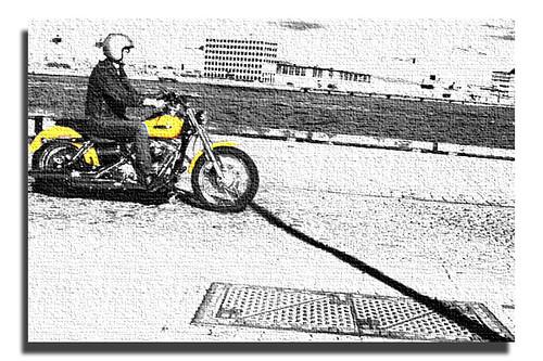 Motorcykel-i-dockan