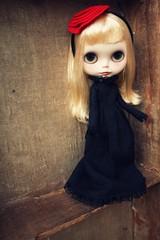 a vampire's stare...
